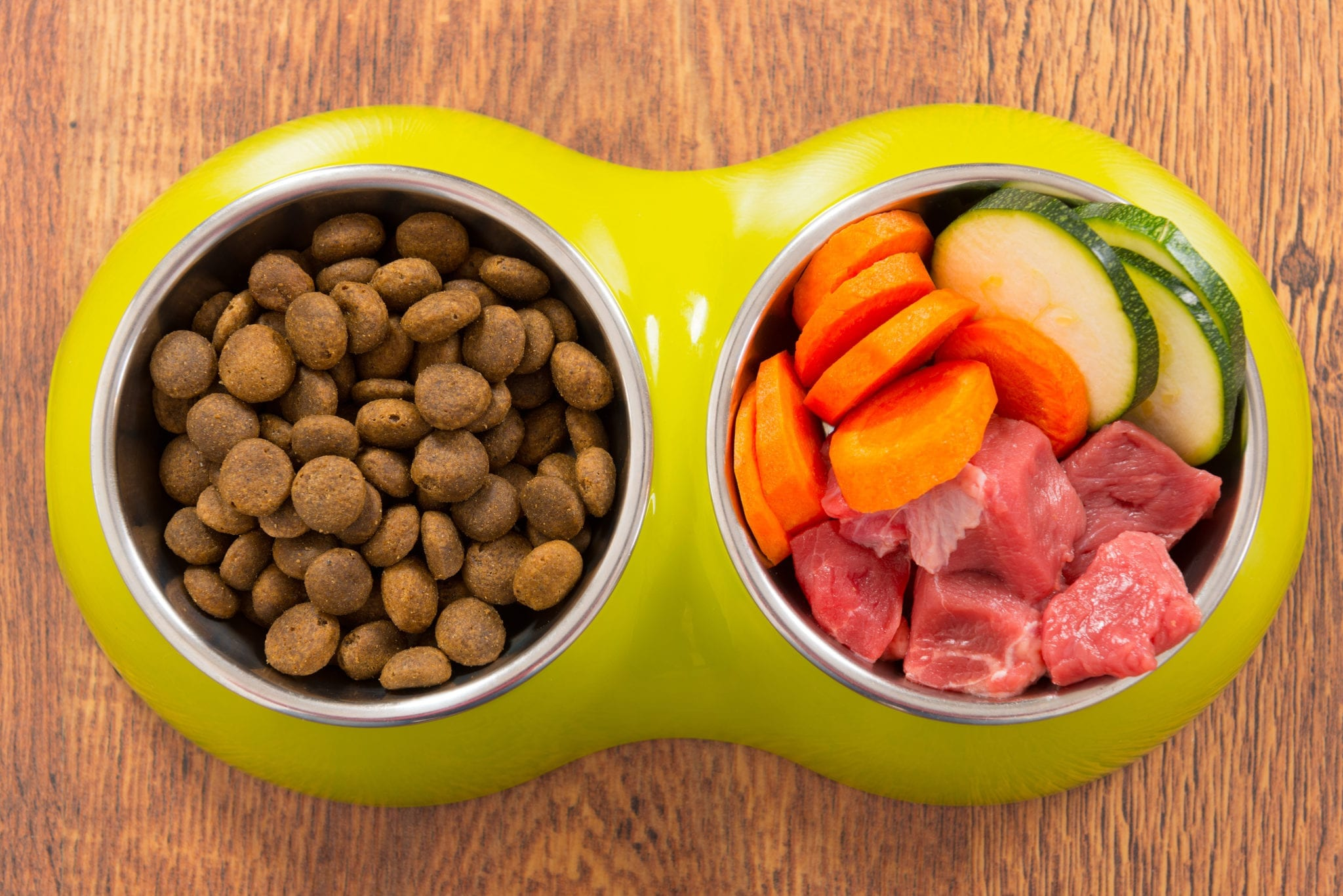 A healthy, balanced diet, even on holidays, is best for your dog